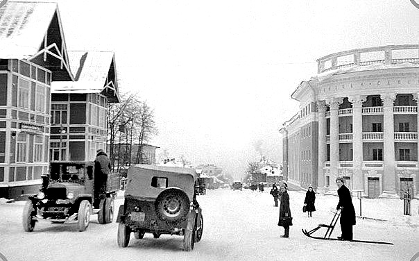 Первый финский концентрационный лагерь