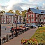 проспект Ленина и въезжая площадь