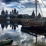 Соловки лодочная гавань