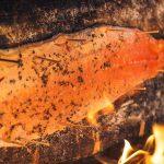 Рыба на бревне, Карелия