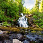 Водопад Белые мосты Юканкоски