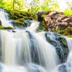 Белые мосты Рускеала водопад
