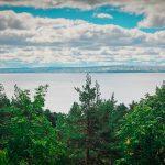 Вид на Петрозаводск Чертов Стул
