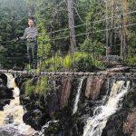 Рускеала водопады