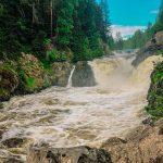 100 символов Карелии – водопад Кивач