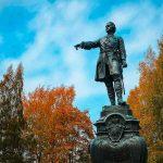 Петрозаводск, памятник Петру Великому