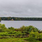 Озеро Рощинское, церковь Пантелеймона