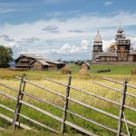 Kizhi, a museum of wooden architecture