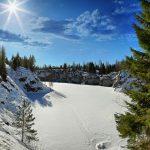 Ruskeala mountain Park