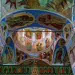 Фрески, монастырь Александра Свирского