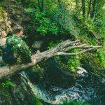 Водопад Юканкоски Белые мосты