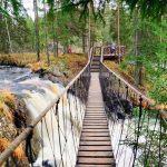 Водопады у Рускеала