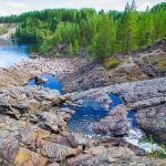 Girvas. The most ancient crater of a volcano in Karelia