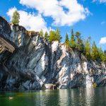 Marble Canyon and Lake Ruskeala