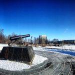 Памятник пушке Петрозаводск