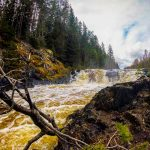 Fall Kivach, Karelia, Russia