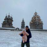 Зимой на остров Кижи