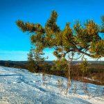 Гора Хийденвуори зимой
