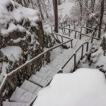 Лестница на горе Сампо