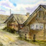 Деревня Корза
