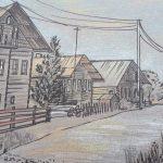 Карельская деревня Корза