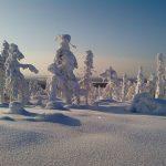 Гора Воттоваара зимой