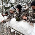 На снегоходе по Карелии