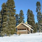 Деревня Кинерма зимой, снегоходный тур