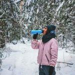 Чаепитие в карельском лесу