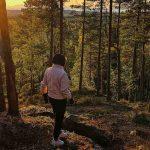 Спуск с Рысьей горы, Карелия