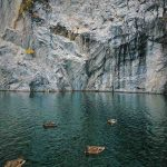 Мраморные скалы Рускеала, Карелия