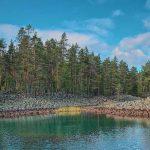 Моренные озера в Карелии