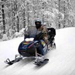 Снегоход в Карелии