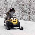 Катание на снегоходе, Петрозаводск