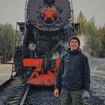 Ретропоезд в Рускеала