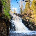 Водопад Юканкоски, Карелия